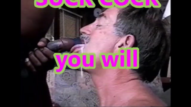 Cock sucker black encouraging you to suck cock Swingers 2002