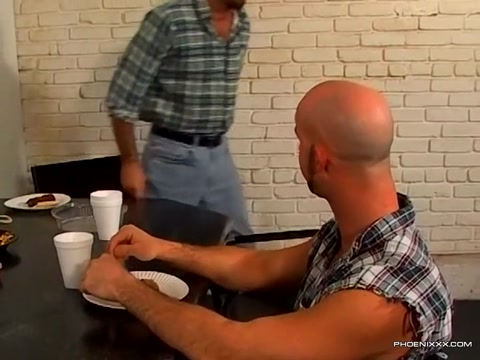 Shaved head gay hunks rough and raw anal fucking Brunette milf with big tits