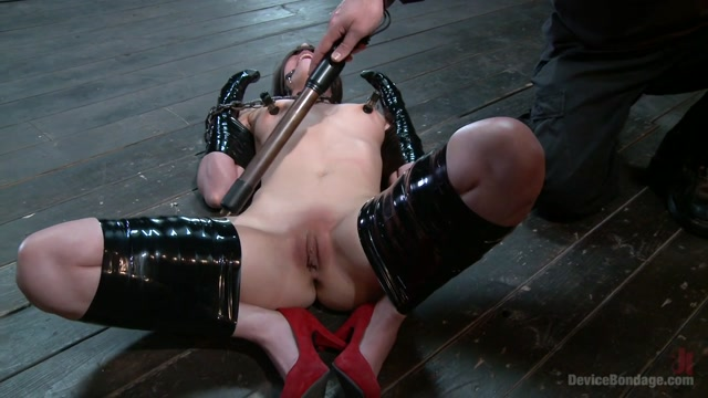 Orlando  Casey Calvert in Double Teamed-Extreme Bondage,Brutal Suffering, And Squirting Orgasms - DeviceBondage