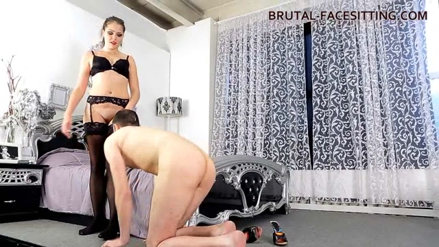Charlotte Clips - Brutal-Facesitting huge dildos in girls