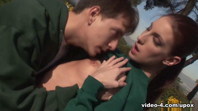 Brandi Lyons in Brandi Lyons Enjoys Cock In Her Holes Outdoor - Upox