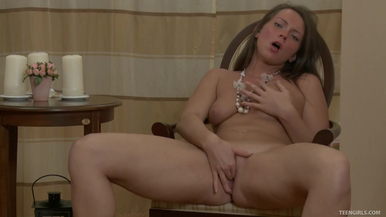 Geneva Thrusts Her Favorite Toy Deep Inside Her Wet Fuck Hole Pregnant wife naked