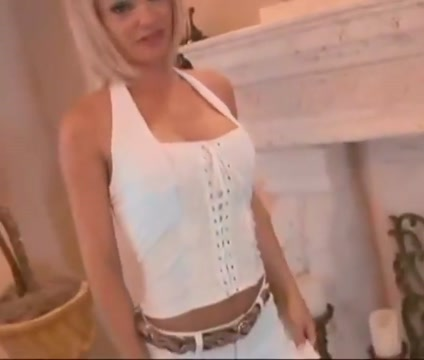 Blonde milf fucks younger dude