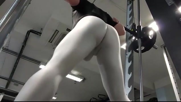 Uncut gym in arroyman gear sexy women with boobs having secx