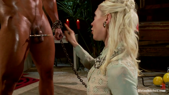 Robert Axel Lorelei Lee in A Chastity Punishment For The Fuck Slave - DivineBitches naked women big breast