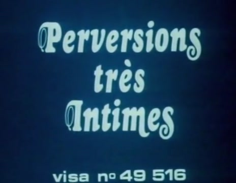 Perversions tres intimes