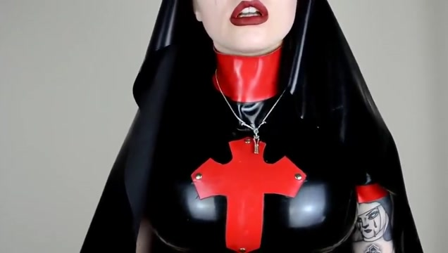Latex nun joi Free lesbian co workers video