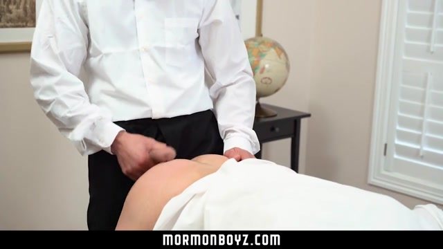 MormonBoyz - Mormon missionary molested by sexy older man Bouncing saggy milf