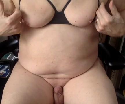 Nipple orgasm Mature chubby stripper