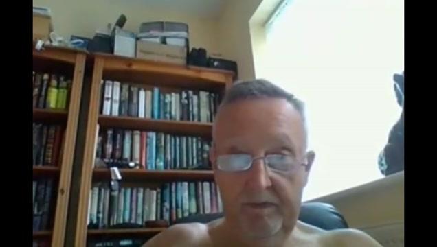 Grandpa stroke on webcam 7 ten black men fuck a blonde