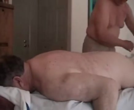 Mature men massage blue turtle shell locations in totem tribe