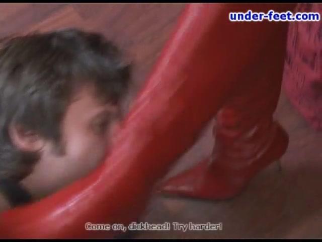 Under-Feet Video: Nika Studding twins xxx