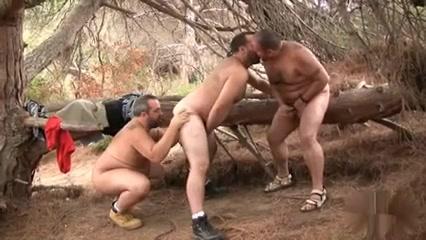 Hairy Bears 3some In The Woods naughty lani lane milf