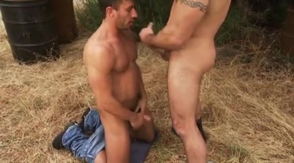 Extenuating Circumstance Pornstar sucking three cocks