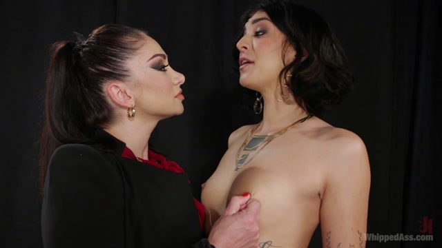Bianca Stone & Lea Lexis in Model Student:Disobedient Bianca Stone Whipped Into Shape By Lea Lexis - WhippedAss Crb check form
