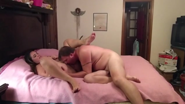 Wife plays with hubby