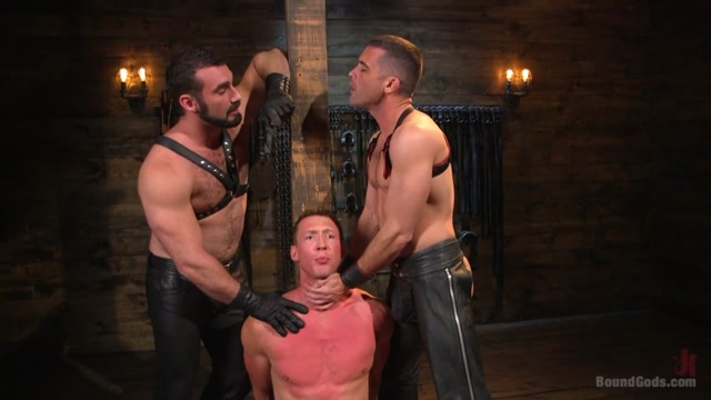 Jaxton Wheeler & Lance Hart & Pierce Paris in Training Day - Dom In Training Gets To Break In A Ripped, New Slave - BoundGods college couples camping trip