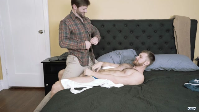 Dennis West & Jacob Peterson in Slut Cash Part 3 - DrillMyHole Clip sex with bic brest