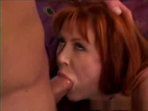 Best pornstar in amazing redhead, facial adult clip