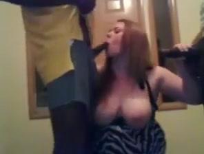 Bbw whore takes two black cocks Very fuckable granny