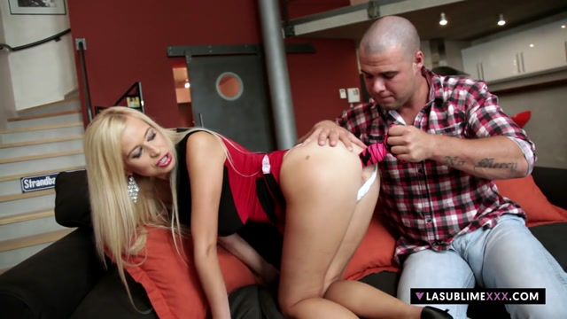 LaSublimeXXX Blonde Czech Anastasia Devine takes big cock in her ass Loved your belt in Fort-Liberte