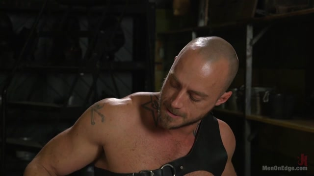 Brian Bonds in Muscled House Slave Begs To Cum In Bondage - MenOnEdge baja miller sex tape