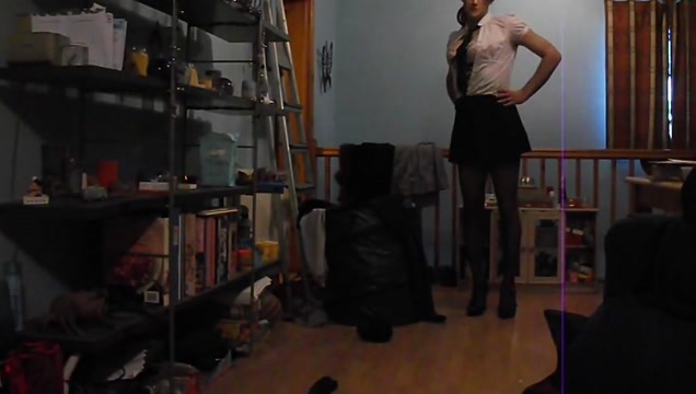 Having fun wearing my sexy school uniform part 3 New dating sites in russia