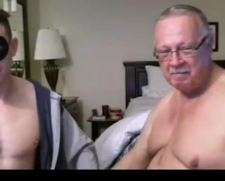 Grandpa and guy on webcam Artistic nude boobs