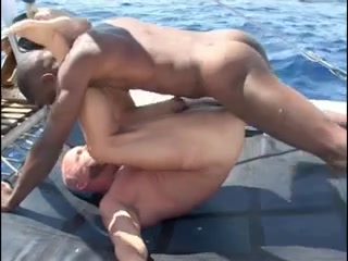 Franco Cento & Sandro on a boat porn pictures of boys