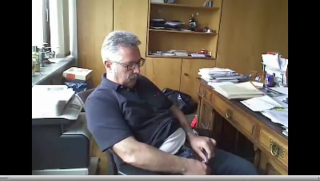 Dad has a wank in the office Online dating growth time