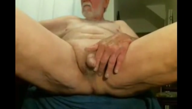 Grandpa stroke on webcam 4 Doing sex bare tit