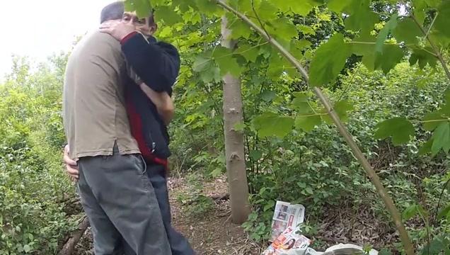 Podryw w lesie 6 Amanda gator nude