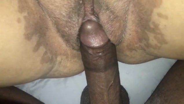 Deep creampie in this good puerto rican pussy Cute shemale babe anal fucked by her dildo