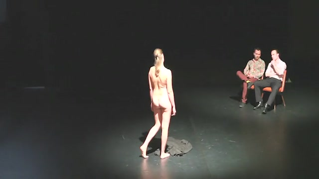 Naked on Stage 29 Iva Sveshtarova Intim Yoga Lesson Sex