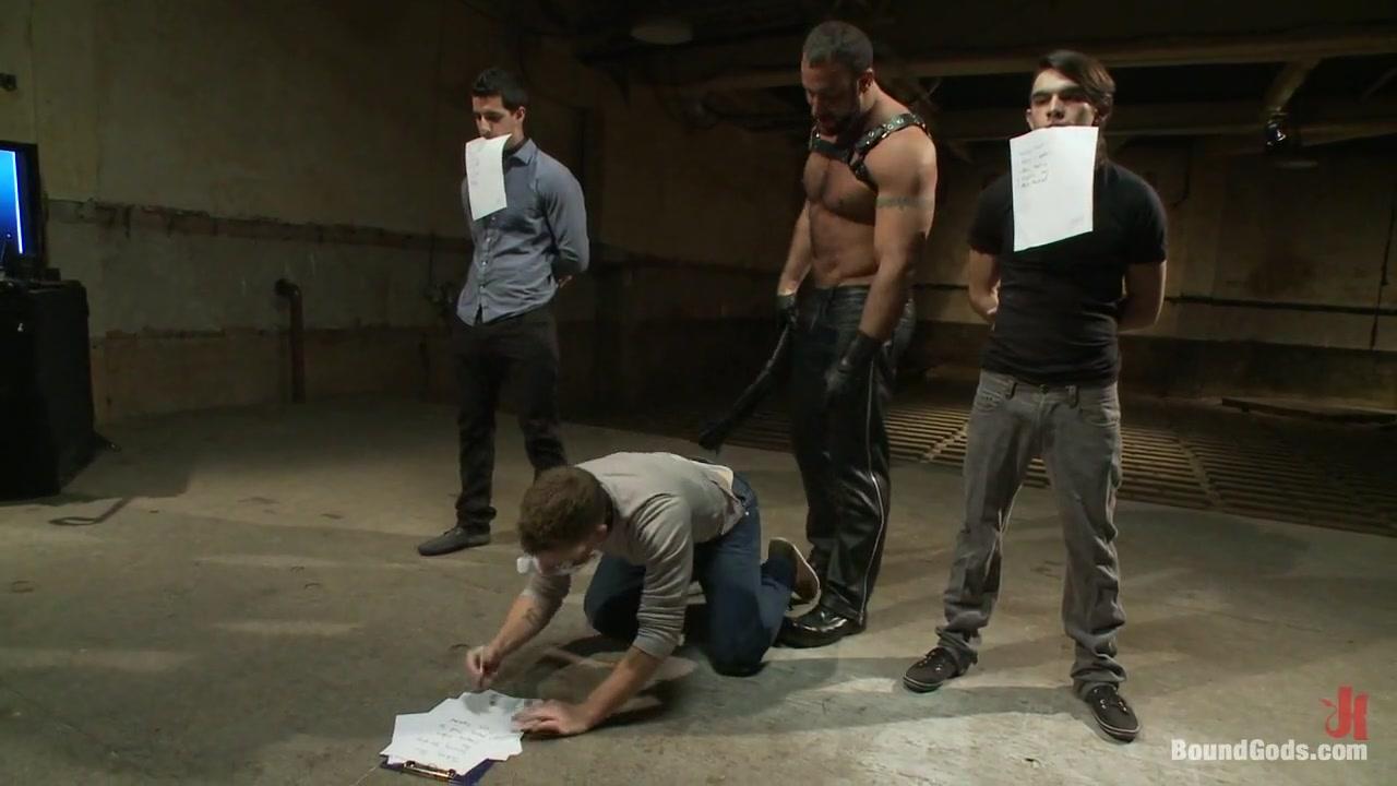 BoundGods : Slave Auction Live Shoot fun filth kinky jobea gilf style
