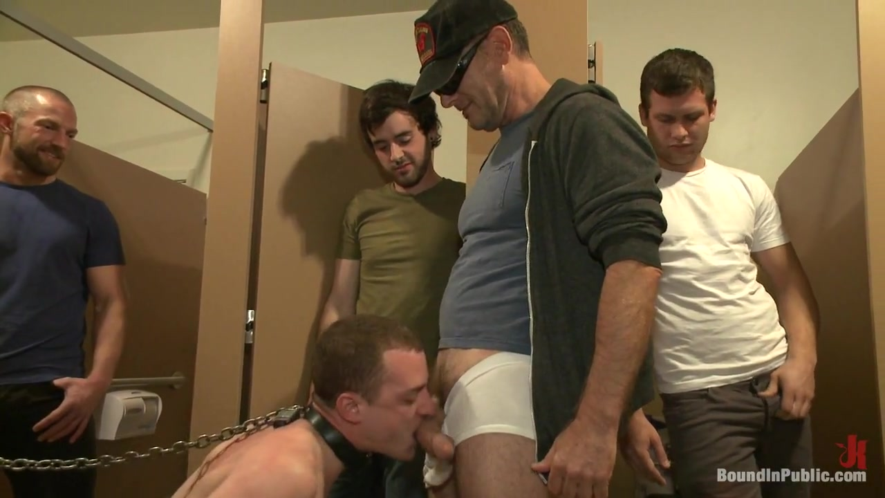 Bound in Public. Holden Phillips wants to be used and humiliated to the extreme A Butt Fisting