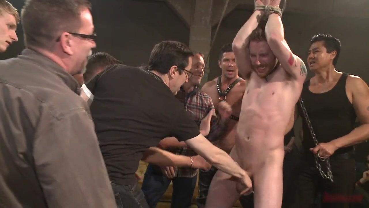 Bound in Public. Sebastian Keys Insane Birthday Bash Sexy young girl orgasm nude