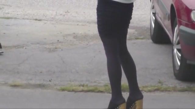Well-shaped legs 5 black stockings nude ftv girl youtube