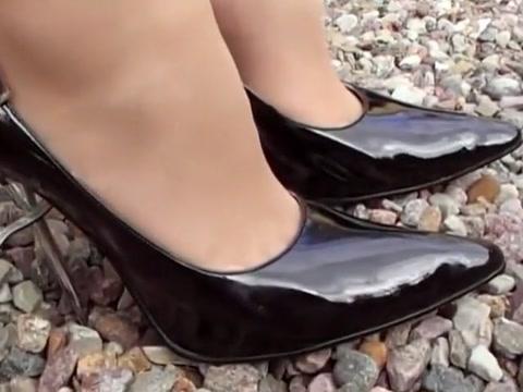 Hottest homemade Outdoor, Foot Fetish sex clip reverend melissa scott porn star