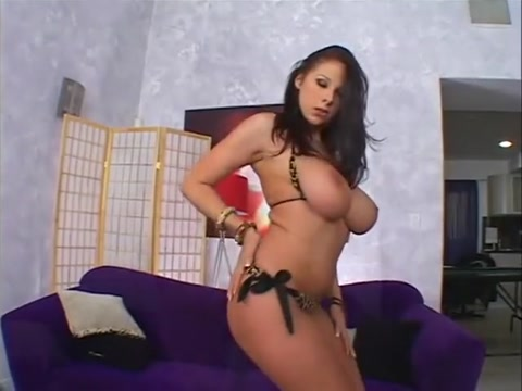 Exotic pornstar Gianna Michaels in hottest brunette, big tits adult scene cross eyed porn 3d