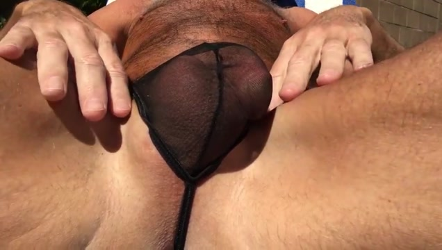 Daddy lazy afternoon Busty mature in lingerie