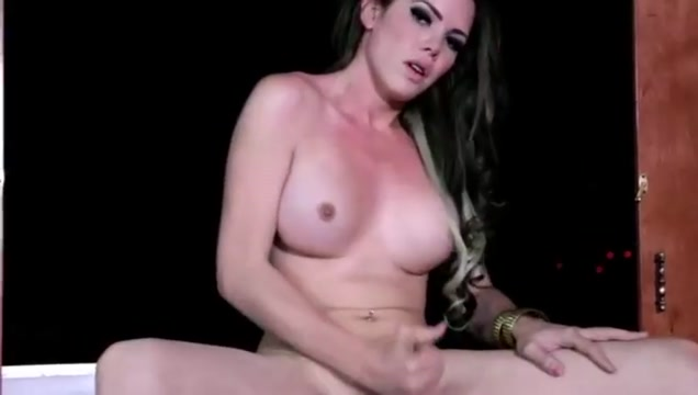 Solo shemale cumshot compilation