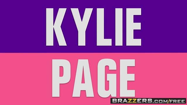 Brazzers - Baby Got Boobs - Kylie Page and Keiran Lee - Bad Babysitter Face of cutie cum overspread