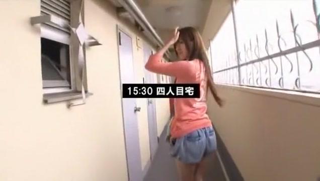 Fabulous Japanese girl in Crazy Blowjob, Fingering JAV movie