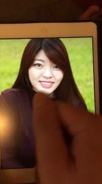 Tribute to my singaporean girl crush - eunice big booty white bbw rides me