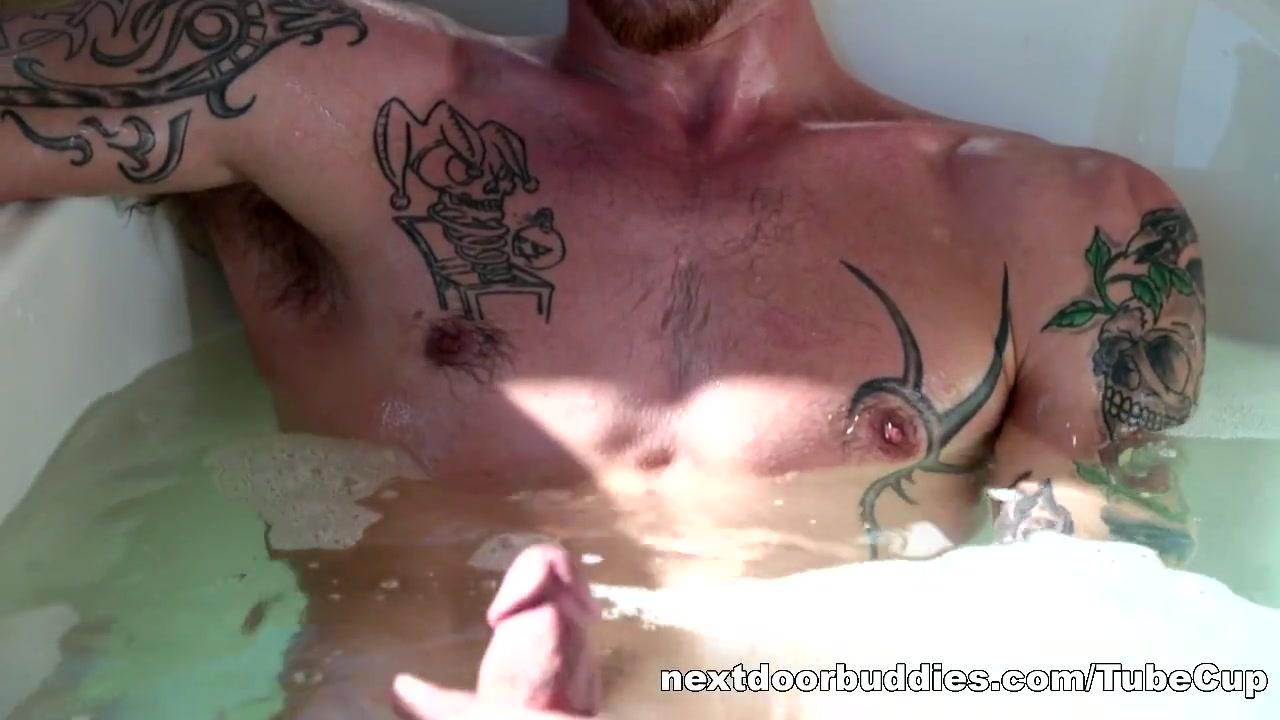NextDoorBuddies Video: Jake Riley Nudist woman blowjob penis and anal