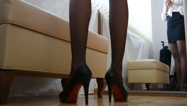 Stockings and high heels Sexy sex hot women's beauti girls