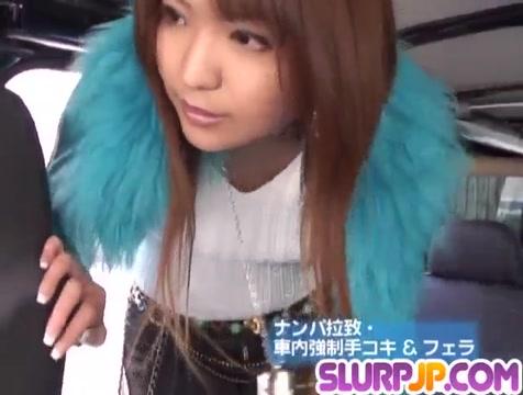 Bang bus experience for insolent Miyo Kasuga - More at Slurpjp.com