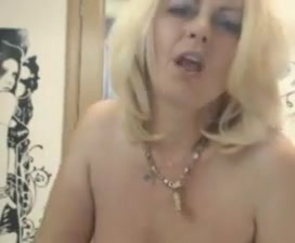 Blond from romania so sexy masturbation what can make my breast looks big and nice again