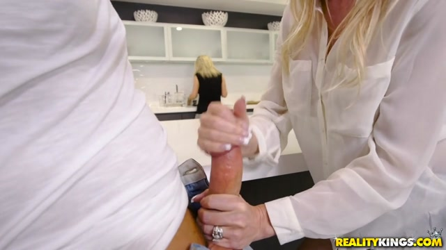 Brandi Love & Jessy Jones in One Hot Milf - SneakySex only sex porn videos